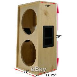 2x12 MM Vertical Solide, Haut-parleur De Guitare En Bois Brut Armoire Vide G2x12vsl Rw