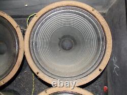4 X Celestion Speaker G12h-30 Pulsonic-cône 003 Vintage