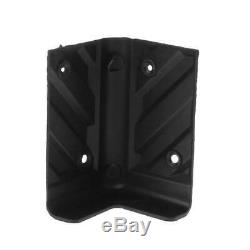 4pcs Abs Coin Protecteurs De Robustes Pour La Décoration Haut-parleurs Amplificateur De Guitare À Domicile