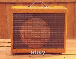 5e3 Narrow Panel Tweed Deluxe Guitar Combo Speaker Cabinet Avec Laque Nitro