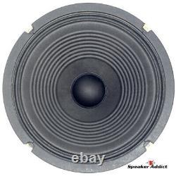 8-pack Peavey Blue Marvel 10 8ohm Haut-parleur De Guitare Grand 4 Remplacement D'ampli Combo