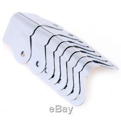 8pcs / Lot De Fer D'angle Protecteurs Pour Enceinte Guitare Amplificateur Partie Jn