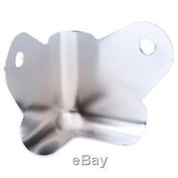 8pcs / Lot De Fer Protecteurs D'angle Pour Amplificateur Haut-parleur Guitare Cabinet P. Us