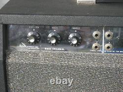Alamo Vintage Tube Bass Ampli Guitare USA Original, Modele 2569, Jensen Enceinte