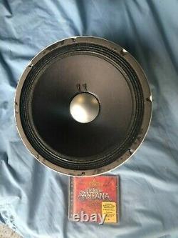Altec 417 8h Santana Et Jerry Garcia 12 Pouces Haut-parleur De Guitare Vintage 8 Ohm