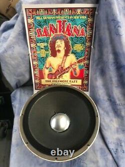 Altec 417 8h Santana Randy Rhoads Jerry Garcia 12 Haut-parleur De Guitare Vintage 8 Ohm