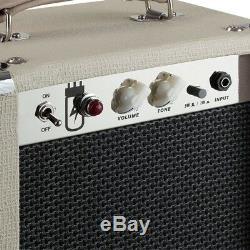 Ampli À Lampes Combinée Guitare Électrique 1x8 5 Watts Avec Haut-parleur 8 Haut-parleurs