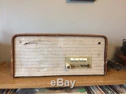 Ampli À Lampes Philips A3x95a Vintage Des Années 1960 Avec Ampli De Guitare À Haut-parleur Works Rat Rod