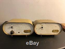 Ampli À Lampes Vintage Des Années 1950 50c5 35w4 12au6 Et Haut-parleur Pour Amplificateur De Guitare