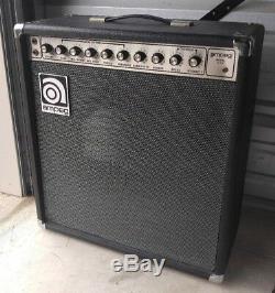 Ampli Ampeg G-115 L'ampli Combo Guitare USA Vintage Nécessite 15 Haut-parleurs Exc
