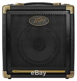 Ampli Ampli Guitare Acoustique Peavey Ecoustic 20w Avec 2 Canaux. +8 Haut-parleurs + Écouteurs