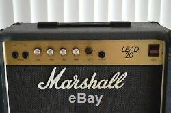 Ampli Combo Ampli Guitare Marshall Lead 20, Modèle 5002 Avec Haut-parleur