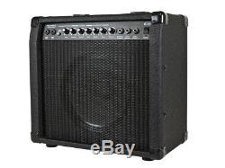 Ampli Combo Guitare 40 Watts 1x10 Avec Reverb À Ressort, Haut-parleur 10 Pouces 4 Ohms