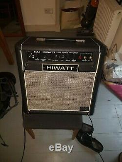 Ampli Combo Guitare Hiwatt T20c 1x12 20w Avec Enceinte Fane