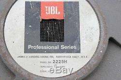 Ampli De Guitare, Amplificateur De Guitare Vintage Jbl Série Professionnelle 2225h 15 2225-h