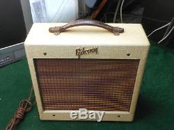 Ampli Gibson Les Paul Junior Des Années 1950 Ga-5 Super Nice Haut-parleur Jensen Original