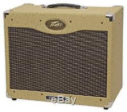 Ampli Guitare À Lampe Peavey Classic 30 112 30w Avec Amplificateur Combo À 12 Haut-parleurs En Tweed