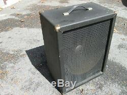 Ampli Guitare Basse Univox Unicord Westbury Vintage'70s 15 Haut-parleur