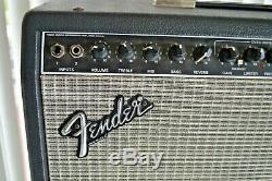 Ampli Guitare Fender Princeton Chorus 2x10 Speakers Modèle Pr 82, Fabriqué Aux Etats-unis