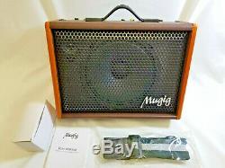 Ampli Guitare Mugig Pour Haut-parleur Portable Guitare Acoustique Ampli Vocal Bm25