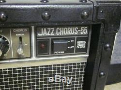 Ampli Guitare Roland Jazz Chorus -55- Années 1980, Sonne Bien, 2 À 8 Enceintes