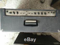 Ampli Guitare Super Echo Twin Et 2 Ampeg Avec Enceintes Goodman Vg Ordre De Travail