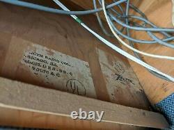 Ampli Vtg Tube Avec Haut-parleur Zenith Guitar Amp Tone Volume Pre-amplificateur Power Works