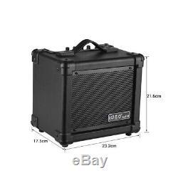 Amplificateur 10w + Bt O9p4 De Haut-parleurs D'amplificateur De Guitare Électrique Sans Fil Portatif