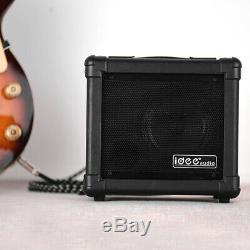 Amplificateur 10w + Bt T0x3 De Haut-parleurs D'amplificateur De Guitare Électrique Sans Fil Portatif
