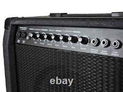 Amplificateur Combo Guitare 1x10 De 40 Watts Avec Réverbération Printanière, Haut-parleur 4-ohm De 10 Pouces
