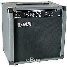 Amplificateur D'ampli Guitare Basse Électrique 40 Watts Rms B40 Avec 10 Haut-parleurs