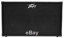 Amplificateur D'ampli Guitare Peavey 212 - Armoire D'extension De 80 W Rms 2x12 Haut-parleurs