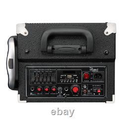 Amplificateur Sans Fil Outdoor Portable Bluetooth Pa System Rechargeable