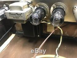 Amplificateur Vintage Gibson Ga40 Les Paul, Re-cover, Ampli À Lampes, Weber Speaker