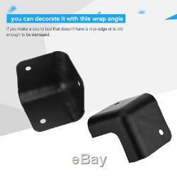 Angle D'enveloppe De Protecteur De Coin En Métal / En Plastique Pour L'amplificateur De Guitare De Cabinet De Haut-parleur