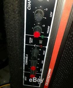 Années 80 Guitare Crate G40cxl Ampli Stéréo Chorus Reverb Celestion Haut-parleurs Distorsion