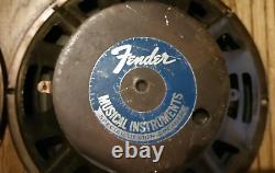 Apparié Quad Cts 10 Haut-parleurs En Céramique1978, Fender Super Reverb