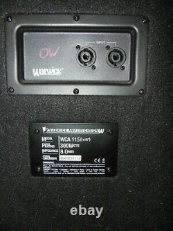 Bassbox Warwick Wca 115 300 Watt 8 Ohm Box Lautsprecher Für Bass Haut-parleur