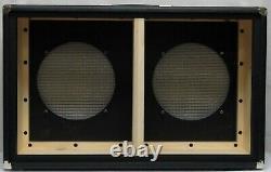Blackface Bassman Style 2x12 Extension Guitare Amplificateur Haut-parleur Cabinet