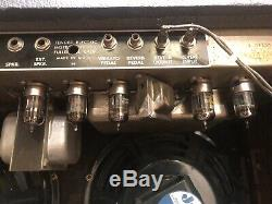 Blackface Originale 1965 Fender Super Reverb Amp Avec Jensen Haut-parleurs P10q