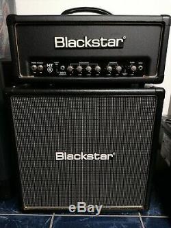 Blackstar Ht 5h 5w Tous Tube Tête D'ampli Guitare Et Blackstar 4x8 Enceinte