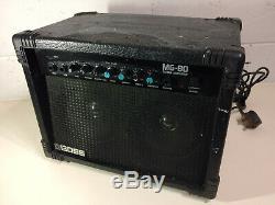 Boss Mg-80 Amplificateur De Guitare Jumeaux Haut-parleurs Illustrés Par Roland