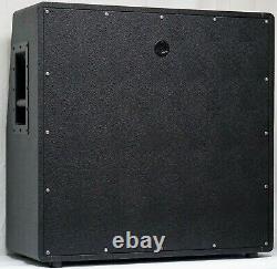 British Style 4x12 Slant Guitar Amplificateur Extension Speaker Cabinet