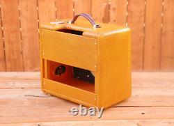 Cabinet 5f1 Tweed Champ. Construit Plus Grand Pour 1x10 Ou 1x8 Haut-parleur/2 Baffles/nitro