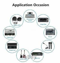 Câble Audio Jack 6.35mm 90 Degrés Pour Les Haut-parleurs D'amplificateur De Mixeur De Guitare Stéréo