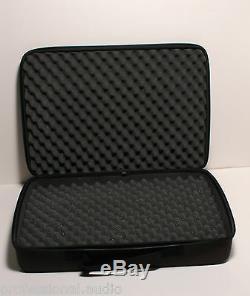 Cas 3x Sans Fil Shure Stockage Mics, Câbles In-ear Monitors, Pédales De Guitare