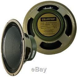 Celestion 2 Chaque 12 Haut-parleur Guitare G12m Greenback 16 Ohms Made In England Nouveau