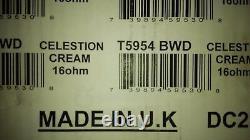 Celestion Cream Alnico 90w 16 Ohm 75hz Guitare Haut-parleur Uk Made Nib