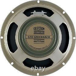 Celestion G10 Greenback 10 16 Ohms Guitar Speaker 30w