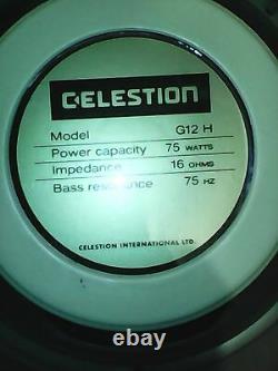 Celestion G12h-75 Creamback 16 75w 75hz Ceramic New Uk Guitar Haut-parleur